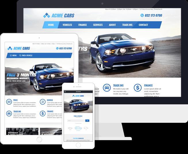 Websites for Car Dealers, Auto Sales   Motorcentral® NZ   Motorcentral