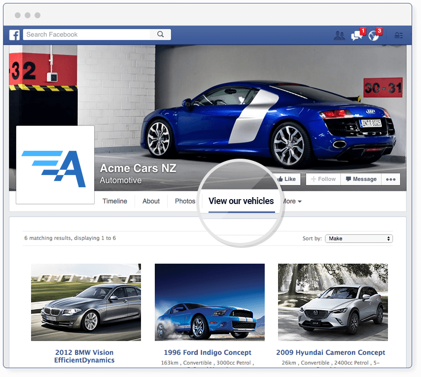 New Zealand Has One Of The Highest Subscription Rates To Facebook Per Capita And Many Vehicle Dealers Have Already Begun Use As A Quick